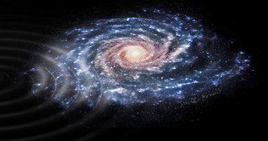 Datada una antigua colisión de la Vía Láctea con otra galaxia