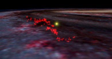 Descubren una gigantesca estructura de gas compuesta por varias guarderías estelares
