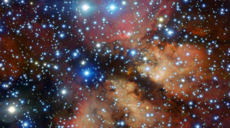 El VLT obtiene imágenes de Gum 26, una guardería estelar en la Vía Láctea