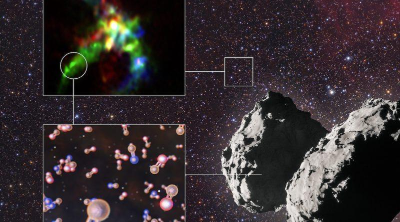 Un equipo de astrónomos revela la historia interestelar del fósforo, un elemento esencial para la vida