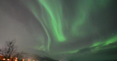 Auroras boreales fotografiadas desde Abisko, Suecia (23-enero)